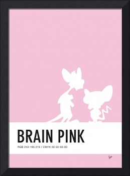 No01 My Minimal Color Code poster Pinky and the Br