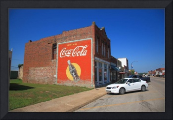 Route 66 - Coca Cola Ghost Mural 2012