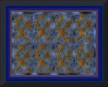 Blue Willow Panel 2