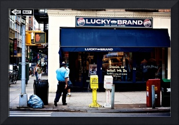 Lucky Brand, New York City, USA