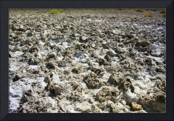 Close up of the Salt Pan, Badwater, California