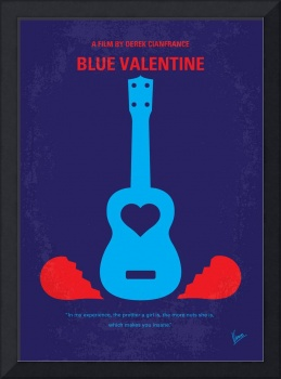 No379 My Blue Valentine minimal movie poster