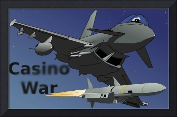 Casino War Euro-Fighter jet plane