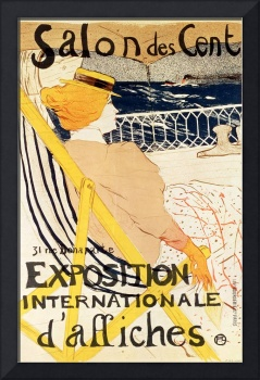 Poster advertising the Exposition Internationale