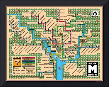 Washington Metro Map (2018)