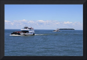 Miller's Ferry at Put-In-Bay, Ohio