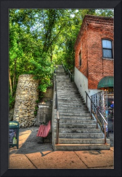Stairs in Stillwell