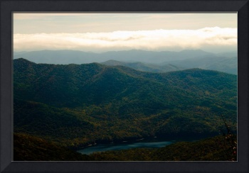 Black Mountains and Swannanoa River