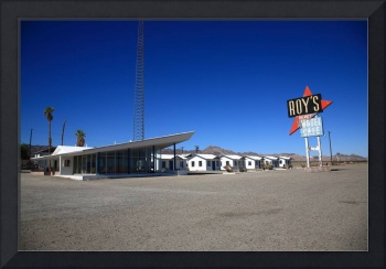 Route 66 - Roy's Cafe
