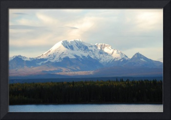 Alaskan Autumn Mountainscape 2