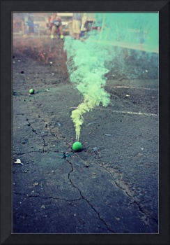 Smoke Bomb in Green