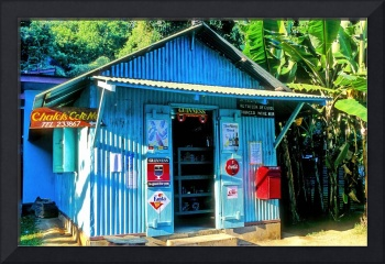 Seychelles Typical Shop