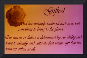 Gifted Quote