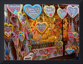 Munich Octoberfest Gingerbread Hearts