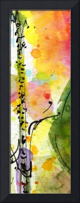 Modern Abstract Tallskinni #10 by Ginette
