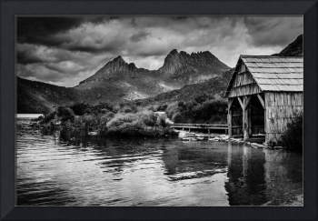 Old Boathouse, Dove Lake, Tasmania