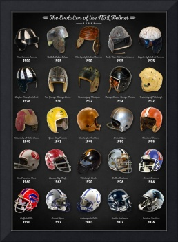 The Evolution of the NFL Helmet