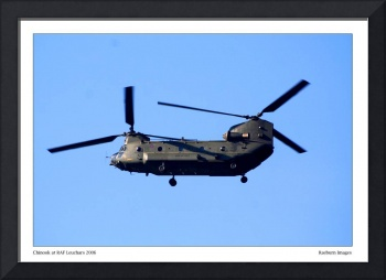 Chinook at RAF Leuchars 2006