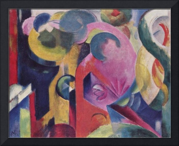Franz Marc Art Framed Print