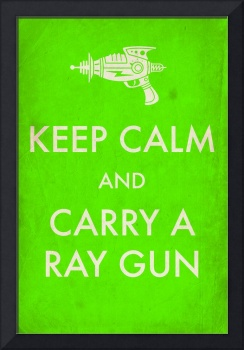 rayguns green aged