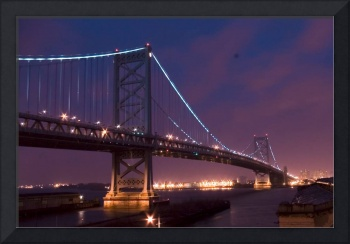 Ben Franklin Bridge Philadelphia I