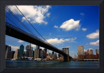 Brooklyn Bridge - New York City Skyline