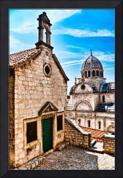 The Cathedral of St. James in Sibenik (Croatia)