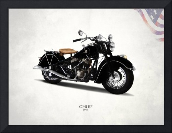 The 1946 Indian Chief Motorcycle