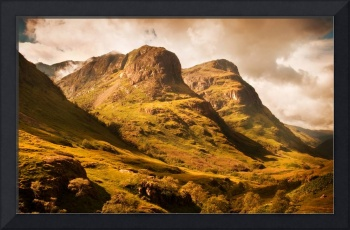 Three Sisters. Glencoe. Scotland