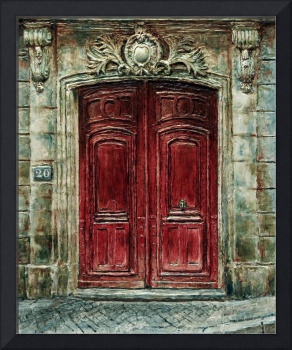 Parisian Door No.20