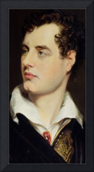 Lord Byron after a Portrait painted by Thomas Phil