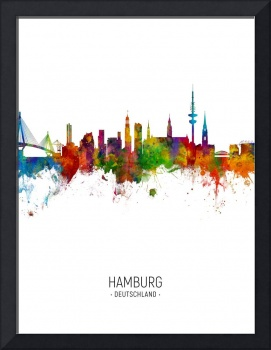 Hamburg Germany Skyline