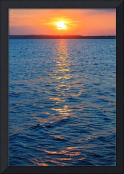 Sunset on the Water 2