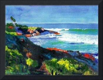 La Jolla Cove looking west by RD Riccoboni