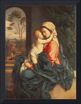 The Virgin and Child Embracing by Il Sassoferrato