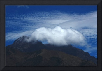 Clouds Over Mount Cotacachi