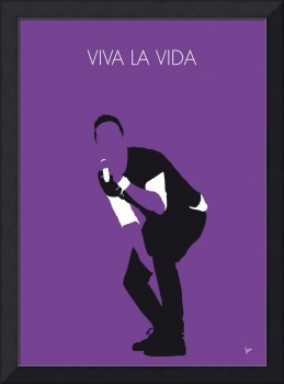 No121 MY Coldplay Minimal Music poster