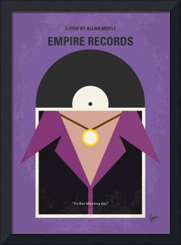 No750 My Empire Records minimal movie poster