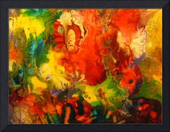 Colorful Abstract Modern Contemporary Fine Art