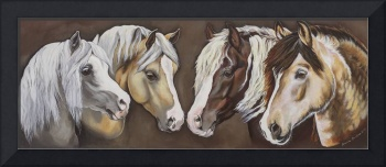 Spirit of the mountains ~ Welsh Ponies and Cobs