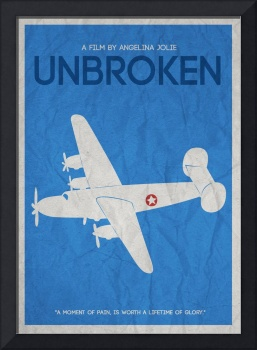 UNBROKEN MINIMALIST MOVIE POSTER V2