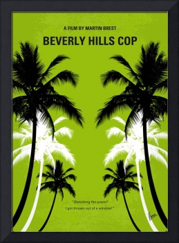 No294 My Beverly Hills cop minimal movie poster