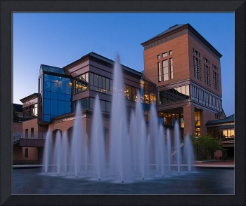 Robert Lurie Engineering Center - Evening