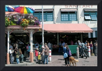 The Pikes Place Market