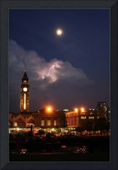 Lightning over Hoboken Terminal #1
