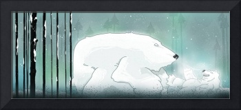 Winter Bear and Baby Bear
