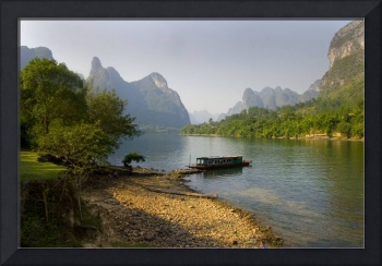 Li River, China - Fine Art Poster - Landscape