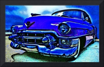 1953 Cadillac by the Moonlight