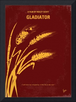 No300 My GLADIATOR minimal movie poster