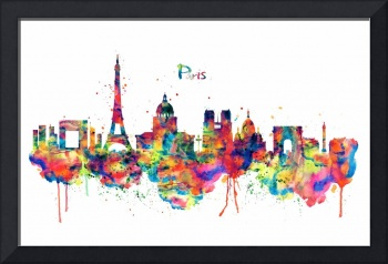 Paris Skyline 2